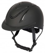 Harry's Horse Riding Helmet Chinook Crystal Black