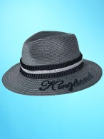 Kingsland Dressage Straw Hat Grey Iron