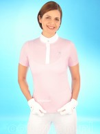 Kingsland Dressage Competition Shirt Tarija Pink Rose