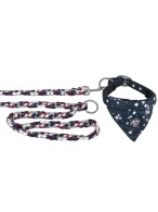 Eskadron Dog Collar Young Star Navy Stars