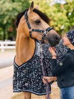 Eskadron Turnout Rug Young Star + Fleece Navy Stars