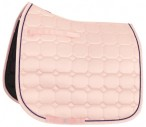 BR Saddle Pad Passion Angus Silver Pink
