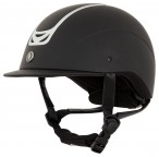 BR Riding Helmet Volta painted Black/Silver