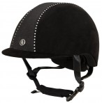 BR Riding Helmet Delta Crystal Black