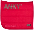 Anky Saddle Pad Crimson Red Winter 2019