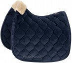 Eskadron Saddle Pad Velvet Crystal Navy
