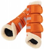 Eskadron Leg Protector + Fur Vermillion Orange