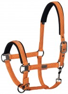 Eskadron Headcollar Set Glossy Vermillion Orange