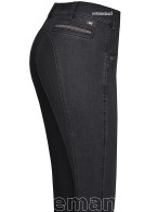 Pikeur Riding Breeches Darjeen Jeans Full Grip NG Black