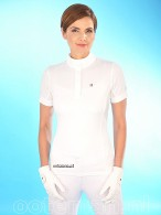 Kingsland Competition Shirt Classic Girls White