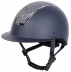 Harry's Horse Riding Helmet Royal Sparkle Navy/Silver