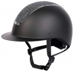 Harry's Horse Riding Helmet Royal Sparkle Black/Silver