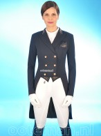 Pikeur Dressage Tailcoat Lilien Pure Rose Nightblue