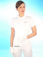 Pikeur Competition Shirt Cassis White