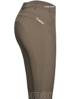 Pikeur Riding Breeches Tesia Full Grip Olive Tree