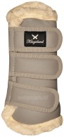 Kingsland Dressage Tendon Boots Frieda Cashew