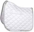 Harry's Horse Saddle Pad Pure White/Silver