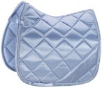 Eskadron Saddle Pad Satin Diagonal Skyblue