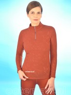 Kingsland Dressage Shirt Siena Brown Burnt