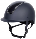 Harry's Horse Riding Helmet Regal Glossy Navy/Silver