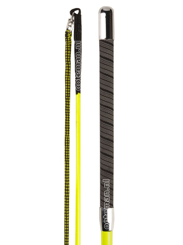 Pr Lunging Whip Yellow Ooteman Equestrian