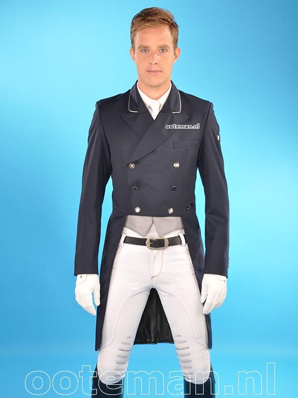 Kingsland Dressage Tailcoat Dressage Navy Ooteman Equestrian