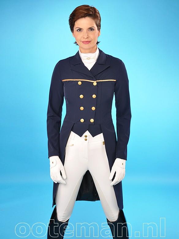 Kentucky Dressage Tailcoat Softshell Navy Ooteman Equestrian