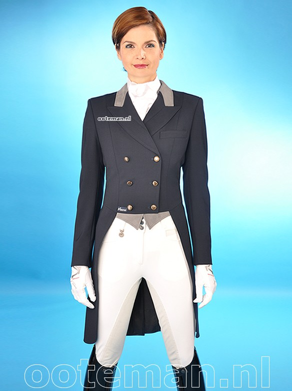 Pikeur Dressage Tailcoat Mccrown Navy Ooteman Equestrian