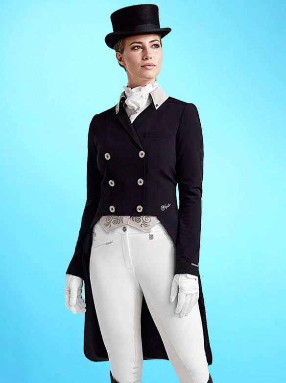 Kingsland Master Dressage Tailcoat Devica Black Ooteman