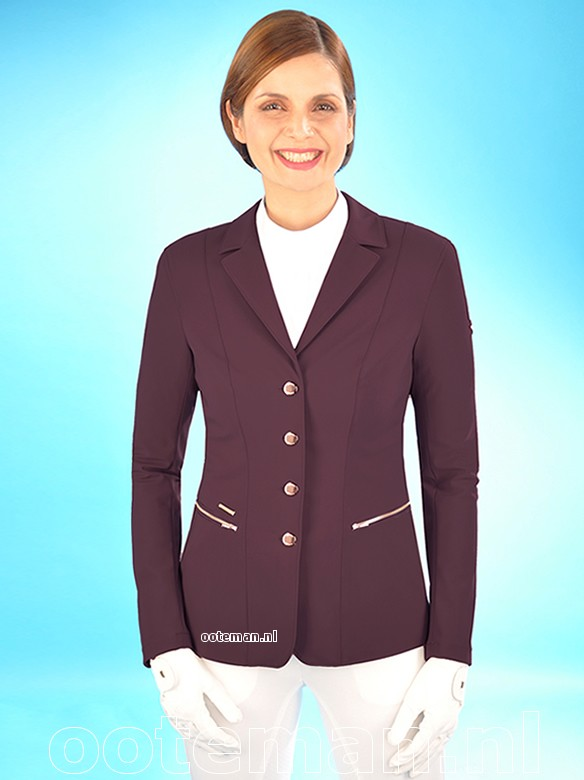 Pikeur Competition Jacket Paulin Bordeaux Ooteman Equestrian